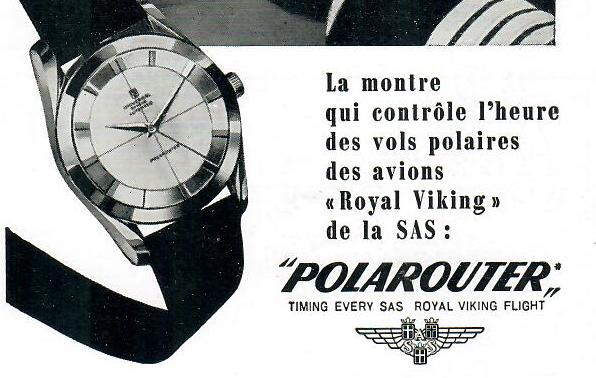 An Polarouter Advert in partnership with the SAS