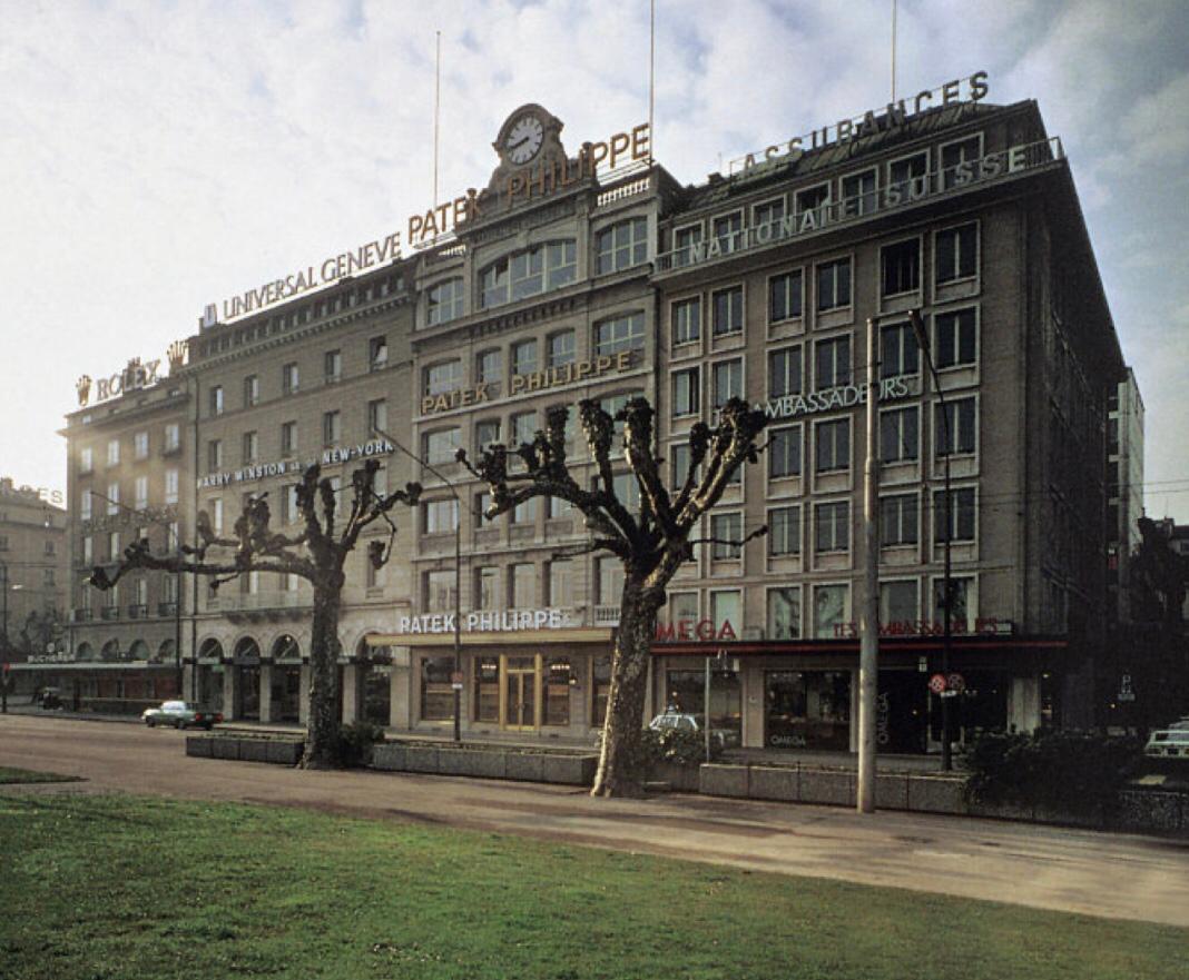 Rue du Rhone in the 1960s