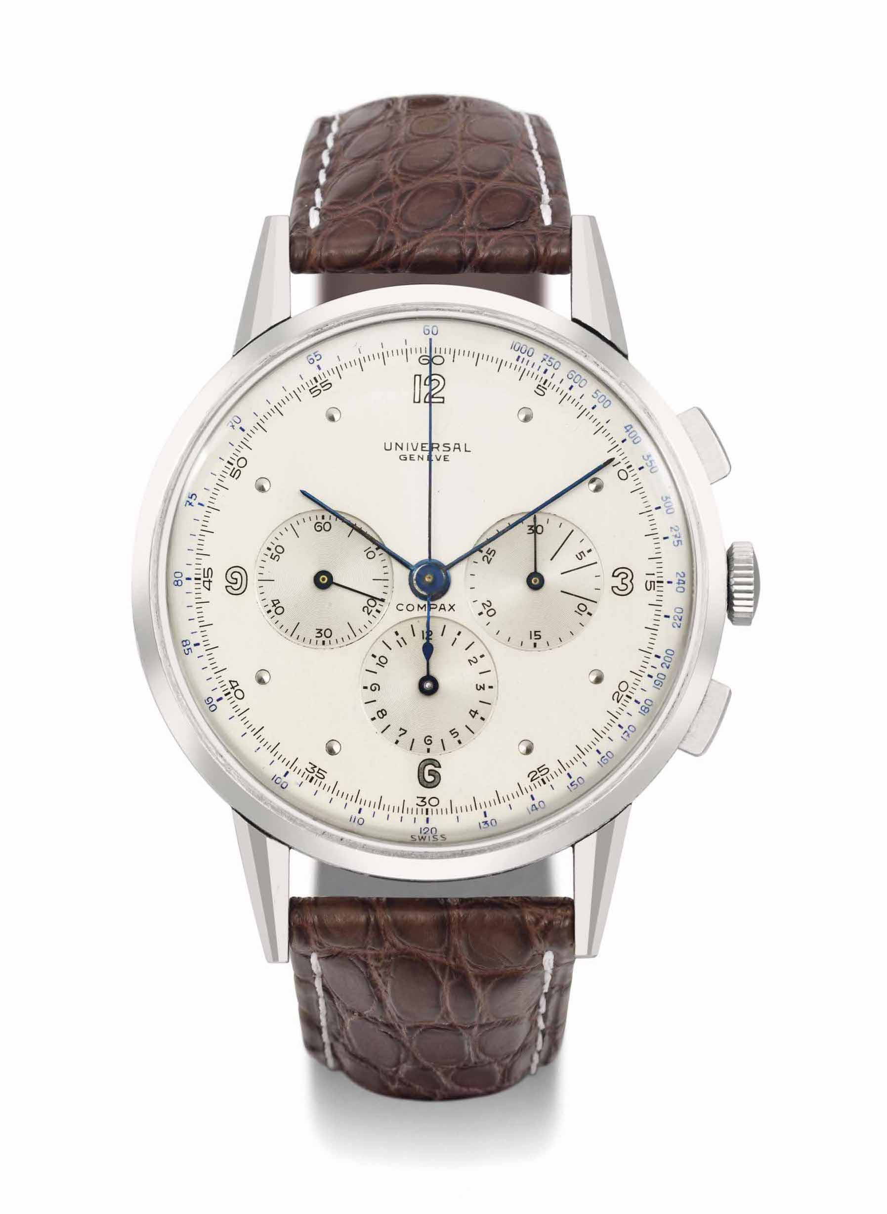 A rare 46mm ref. 22430 Compax by @Christies